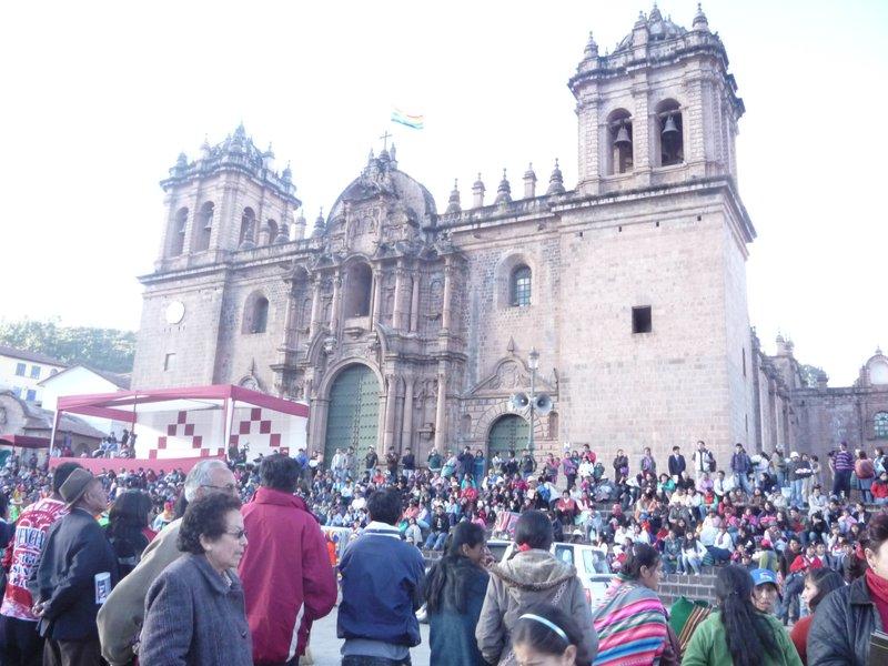 The Cathedral, Plaza de Armas