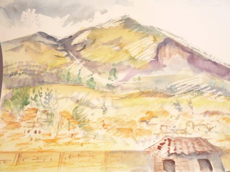 The Hill around Cusco