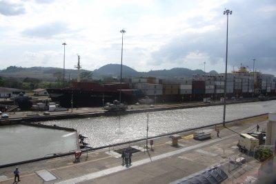 Het Panama-kanaal!