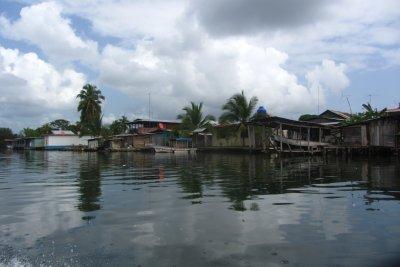 Uitzicht op Bocas.