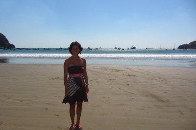 Het strand van San Juan del Sur.