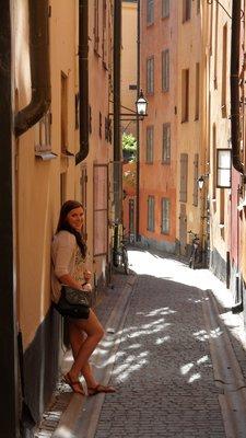 The old town, Stockholm, Sweden.
