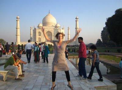 Now I've conquered the Taj Mahal!