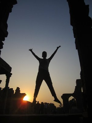 I jump for sunsets!