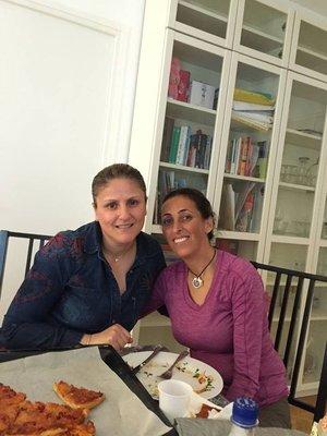 Reem and I In paris