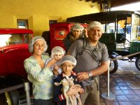 The Whole Family at Taquila Factory