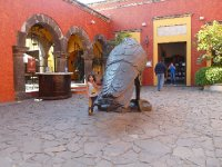 The town made its fame from Taquila