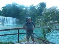 Bader and massive water fall