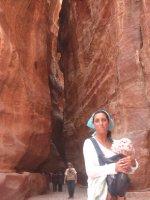 I and Juliya in Petra