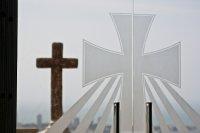 Two crosses at Cerro la Popa