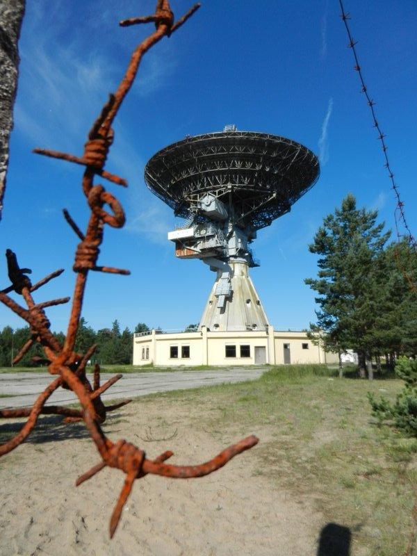 Soviet espionage satellite
