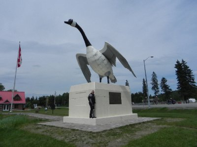 The Largest Goose in the World - Wawa, Ontario