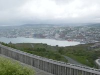 THE HARBOUR FROM SIGNAL HILL