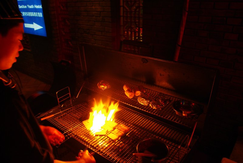 Chinese barbecue