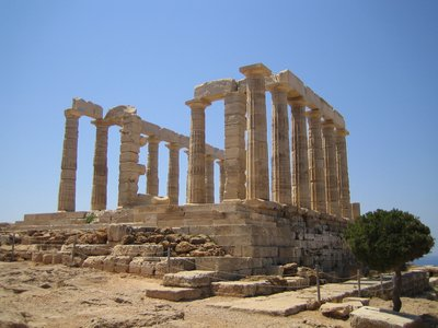 Temple of Poseidon - Cape Sounio