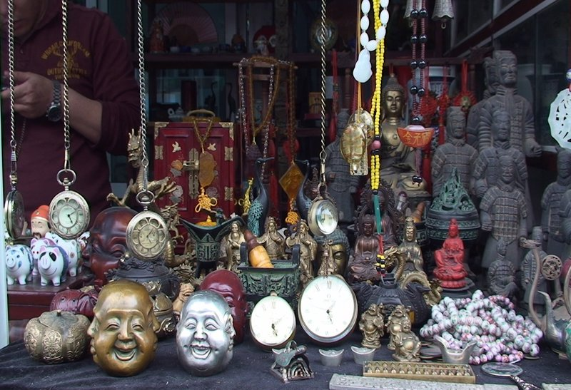 Trinkets in the Hutong