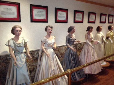 Inaugural Gowns of the First Ladies