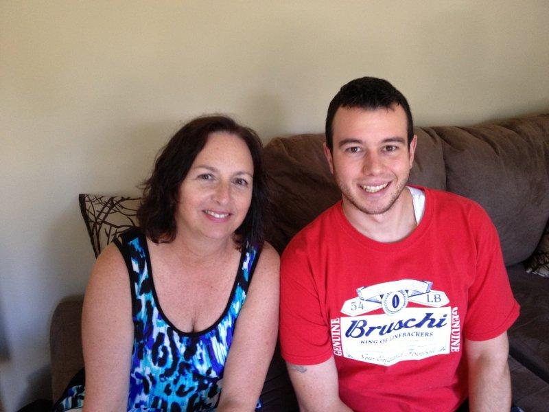 BettyJane and son, Nick.