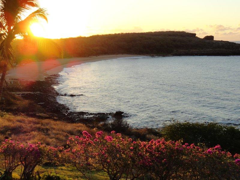 Sunrise in Lana'i