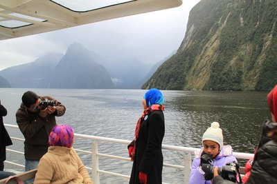 nz (1299) milford sound