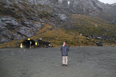 nz (1927) me in front homer tunnel