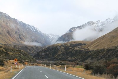 nz (1) rosd to mt cook