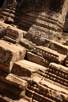 Everywhere you look, you see such incredible detail, even hundreds of years after the temples were constructed