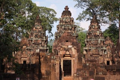A last look at Banteay Srei