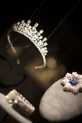 Princess Grace's tiara, bracelet and brooch