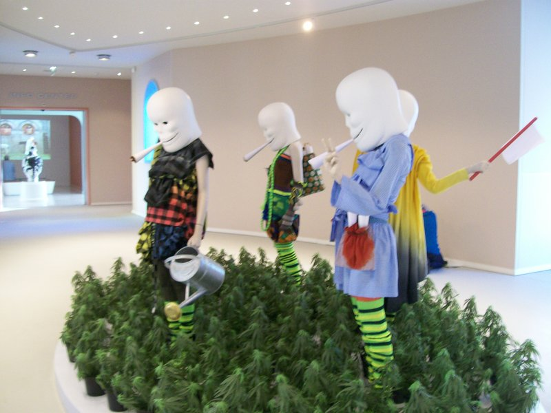 Creepy art- Modern Art Museum in Groningen