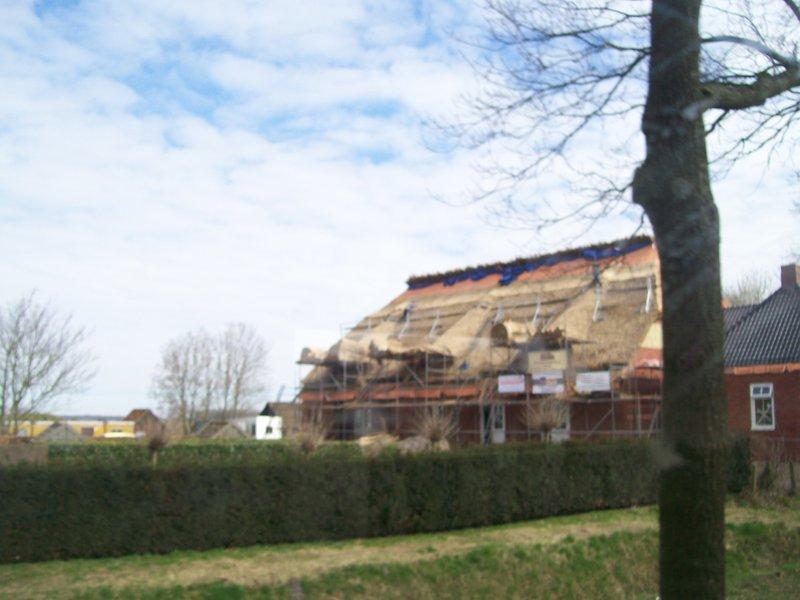 Roofing - on my way to Siddeburen
