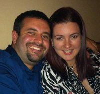 Me & the hubby!