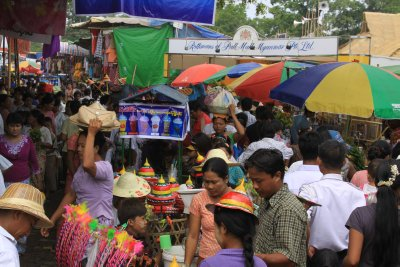 Crowds flock to the festival