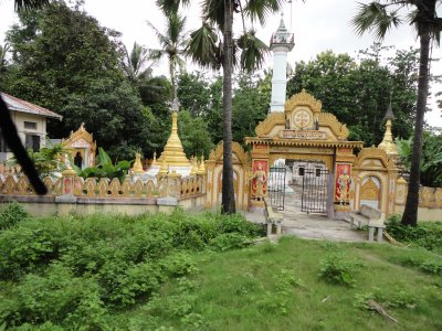 Golden temples passed us by