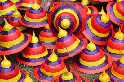Colorful hats for sale