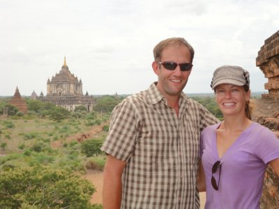 Looking out over the Plains of Bagan