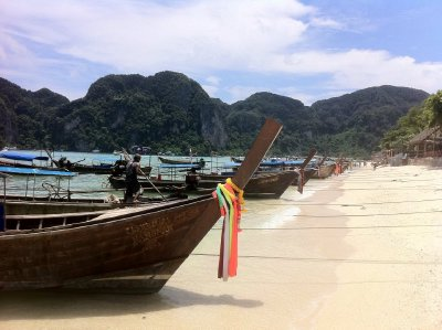 Beautiful beaches of the Phi Phi islands