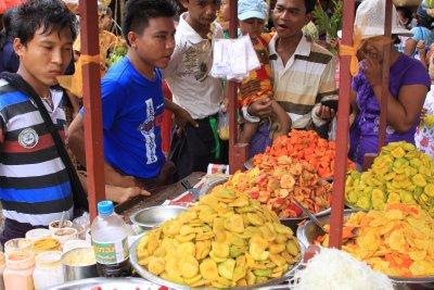 The pickled salad cart