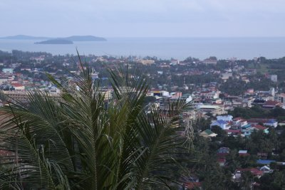 Looking out over Sihanoukville