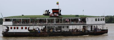 The slow boat down the Ayeyarwady