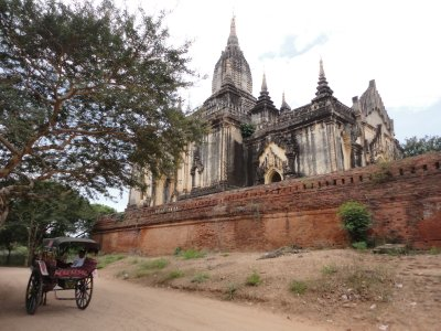 Typical transportation around the Temples