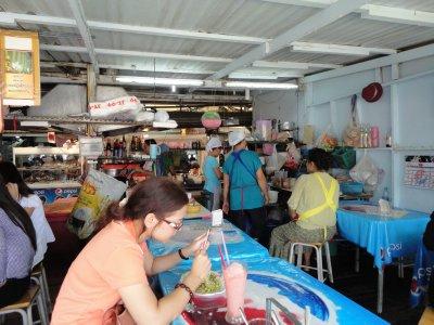 Great food overlooking the Chao Phraya