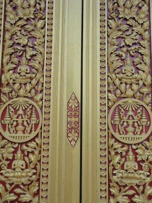 Beautiful carved doors