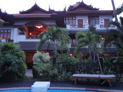 Our delightful 'home' in Mandalay