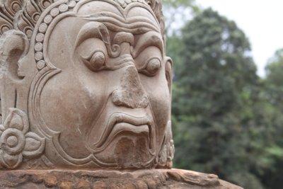 Close up sculpture