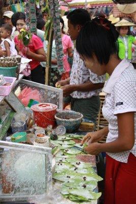 Betel nut production line