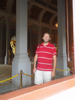 Outside the Throne Room