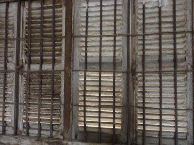 Window bars in Tuol Sleng
