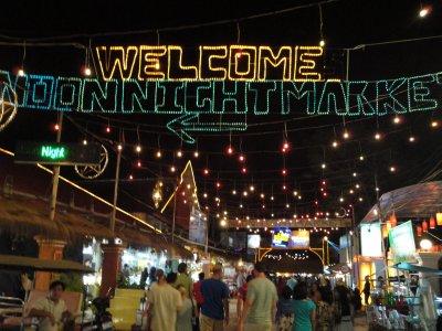 Inviting Siem Reap night market