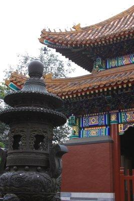 Inside the Lama Temple